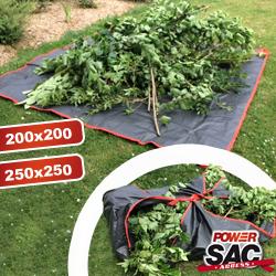 Grande bache de ramassage C - Jardinage professionnel