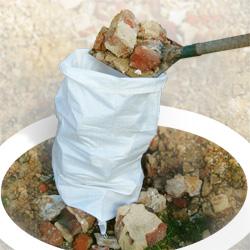 sac déchetterie gravats et déchets verts